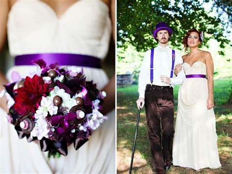 A Willy Wonka Inspired Wedding Shoot