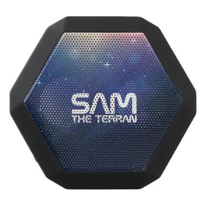 Monogram Series: You The Terran. Funny Gift. Black Bluetooth Speaker