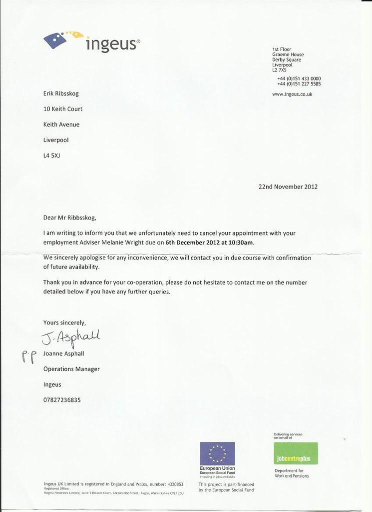 nytt brev ingeus
