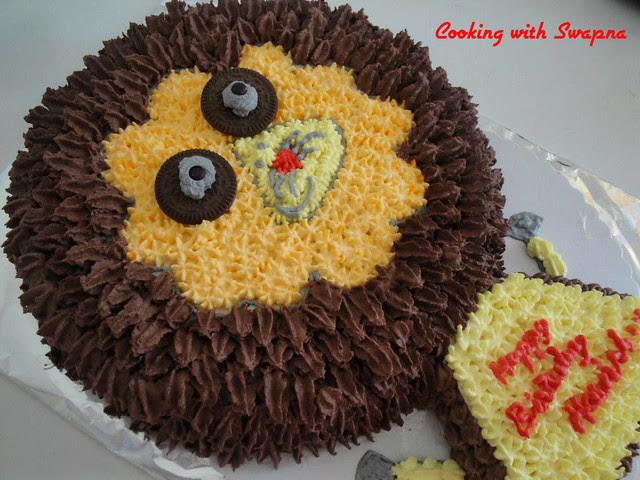lion cake 2