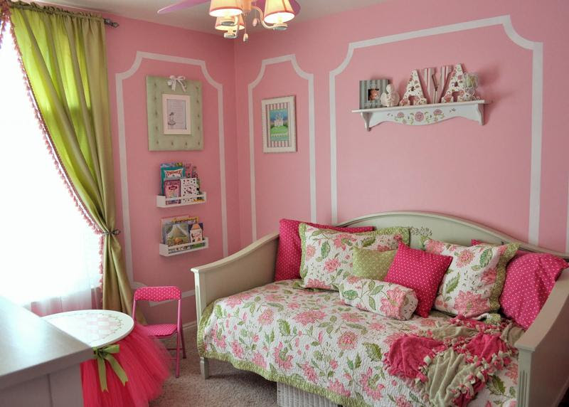 15 Adorable Pink And Green Bedroom Designs For Girls Rilane