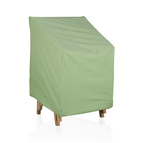 Crate and Barrel - Stackable Chair Outdoor Furniture Cover ...