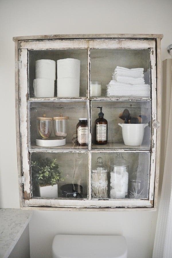 DIY Bathroom Decor & Storage • The Budget Decorator