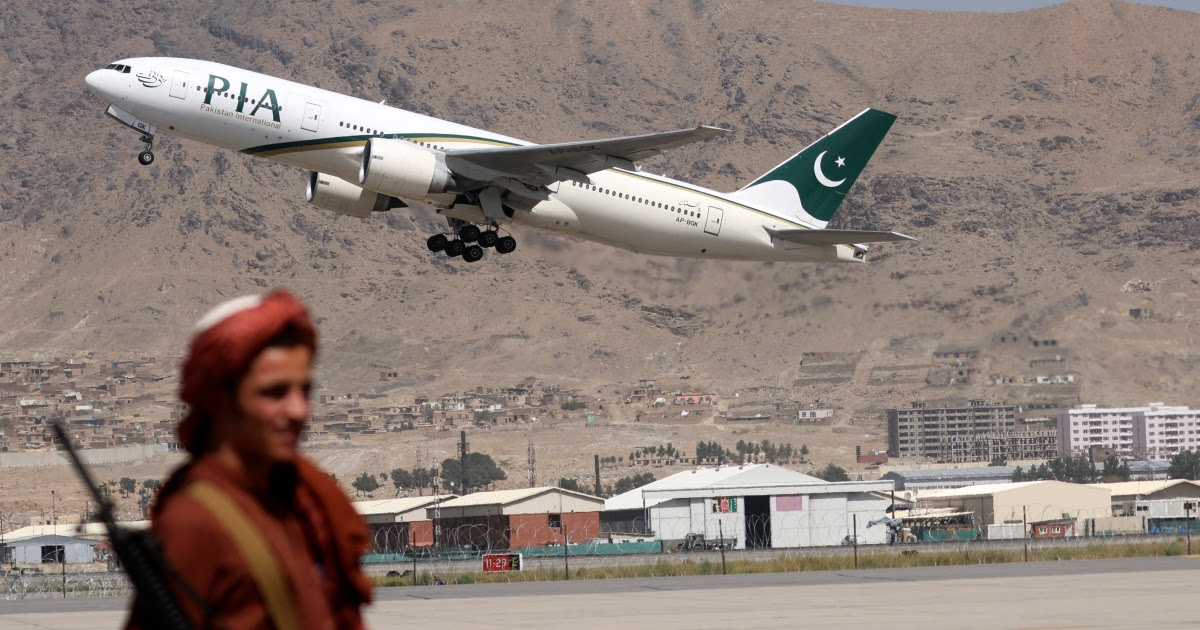 Pakistan Airlines suspends Afghanistan flights amid Taliban row