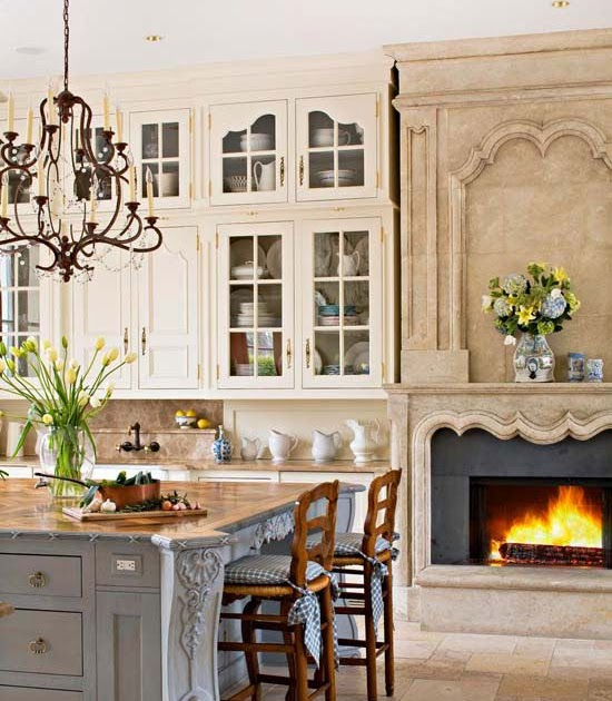 PrivateMosaicGarden: French Country Kitchen...beautiful