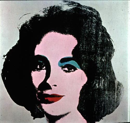 Liz Taylor - Andy Warhol