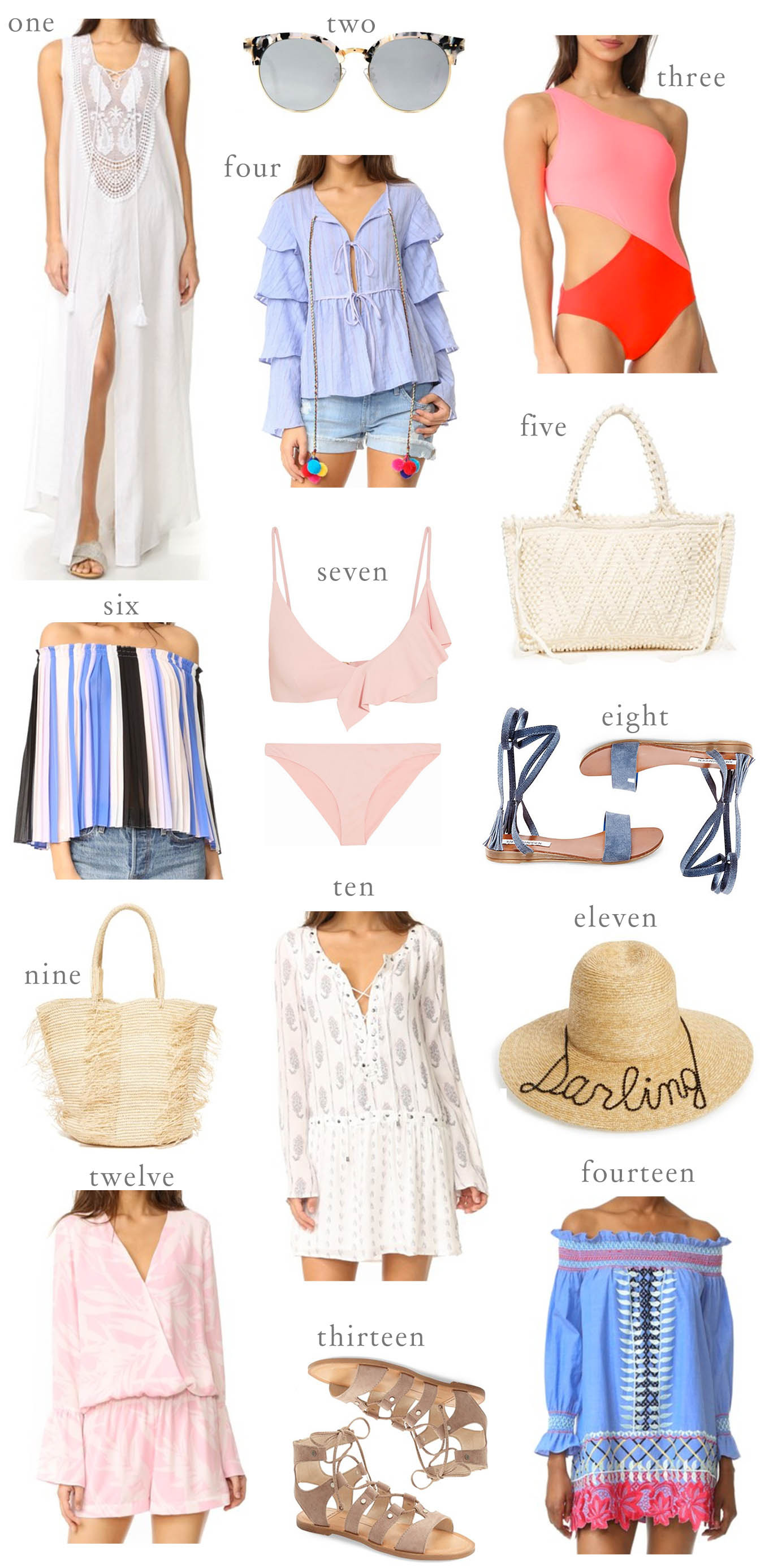 5 Things to Pack for Every Beach Vacation  Hello Fashion