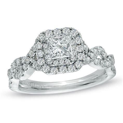 Vera Wang Love Collection 1 CT. T.W. Princess Cut Diamond