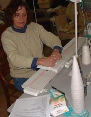 N. Sue knitting