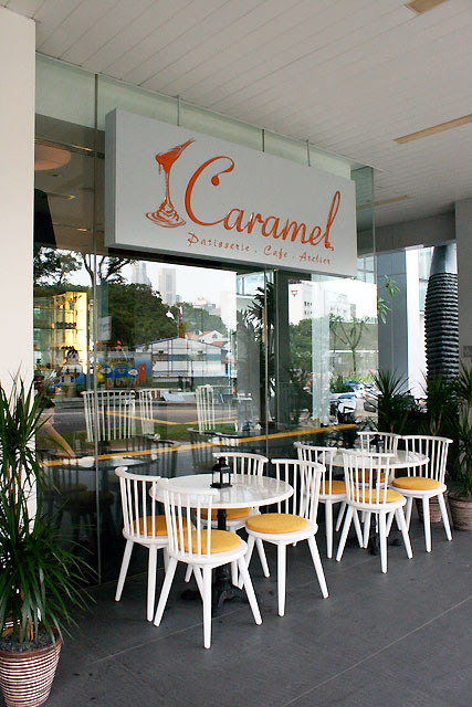 1Caramel is at Luxe Building, next to Cathay
