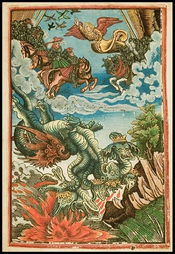 dragon from Martin Luther - 16th cent. New Testament zg