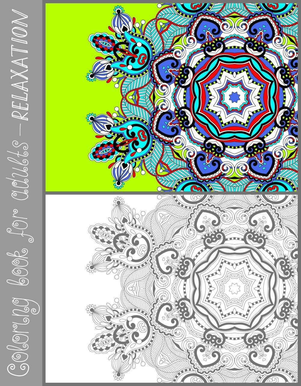 Belle coloriage adulte avec modele couleur imprimer et obtenir une coloriage gratuit ici - Coloriage avec modele ...