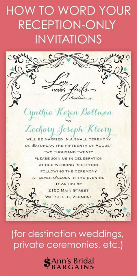The 25  best Wedding invitation wording ideas on Pinterest