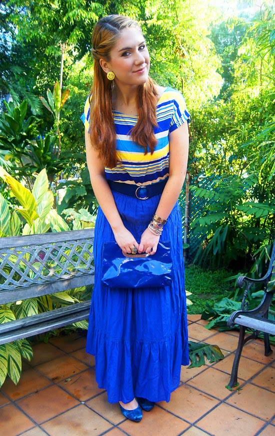 Blue & Yellow by The Joy of Fashion (6)