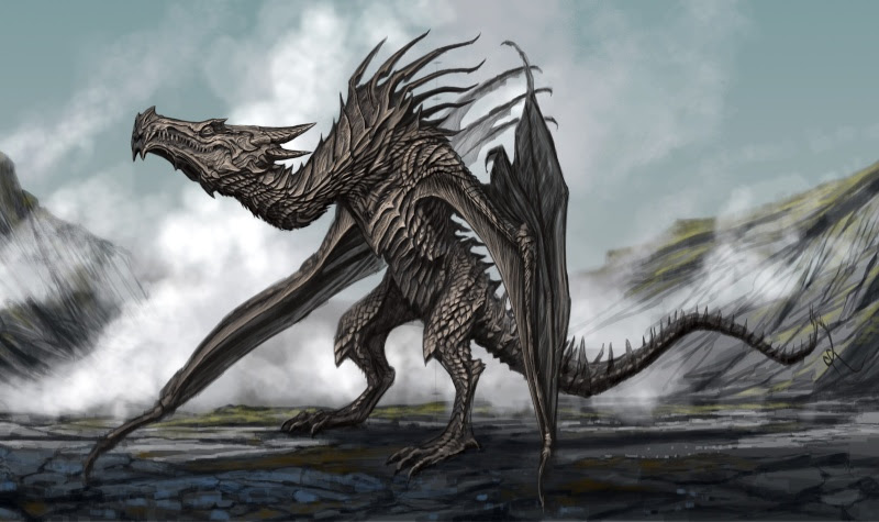 Dragon from Skyrim