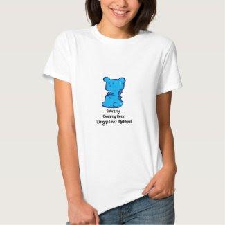 Gummy Bear Weight Loss Tee Shirt
