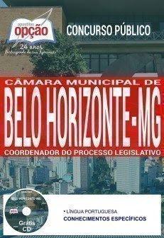 Apostila Concurso Câmara de Belo Horizonte 2018 | COORDENADOR DO PROCESSO LEGISLATIVO