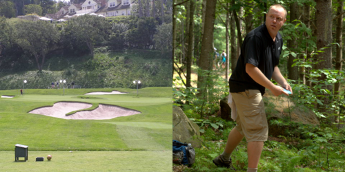 Golf-course-vs-frisbee-golf-course