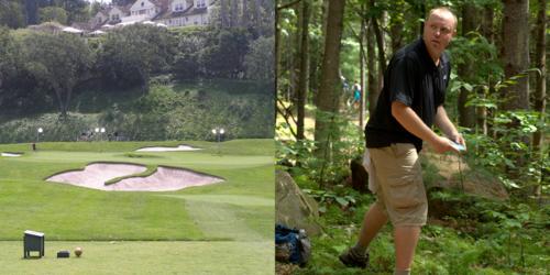 Golf-course-vs-frisbee-golf-course