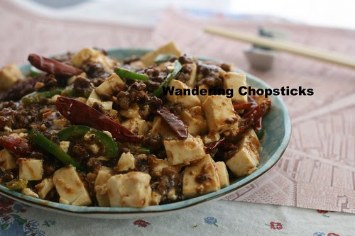 Ma Po Tofu (Chinese Pockmarked Old Lady's Tofu) 1