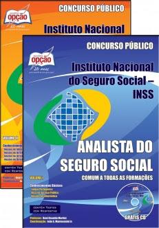 Instituto Nacional do Seguro Social (INSS)-ANALISTA DO SEGURO SOCIAL - CONHECIMENTOS BÁSICOS - COMPLETA