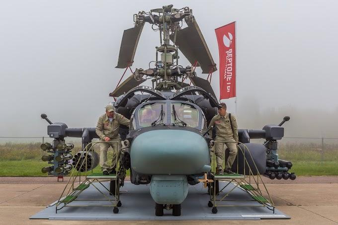 Ka-52M atualizado será equipado com míssil de cruzeiro de longo alcance