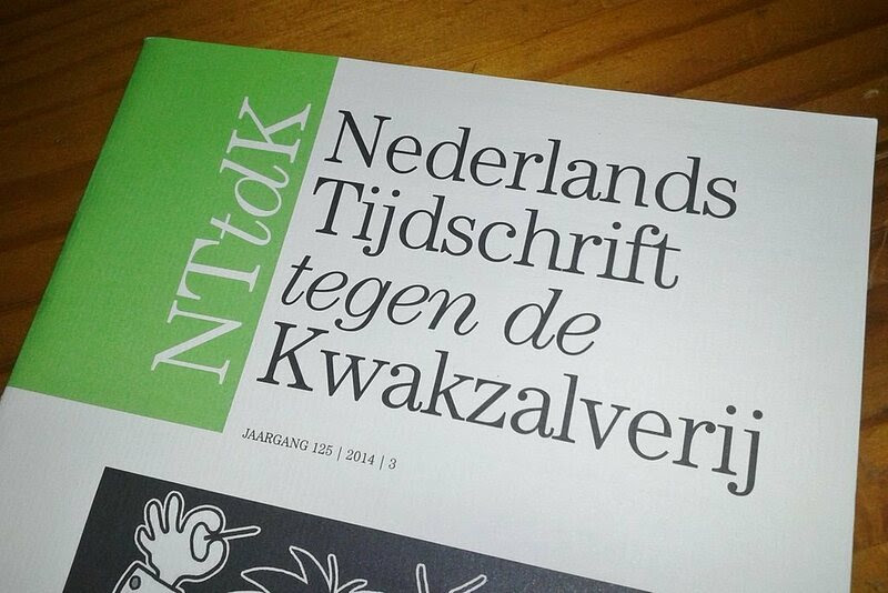 An issue of the <em>Dutch Magazine Against Quackery</>.