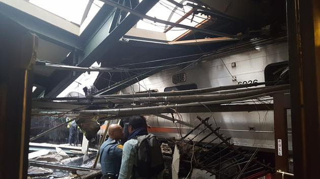 Image result for hoboken train accident