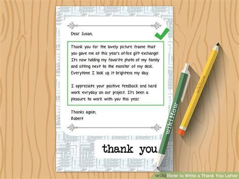 How to Write a Thank You Letter (with Sample Letters