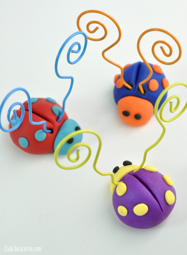 Mother's Day LOVE BUG gift idea with Premo Clay copy