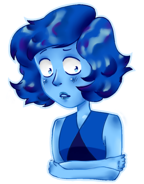 Lapis Lazuli~ She fled into the bottom of the sea~ art by Sicha! My first bit actually :D