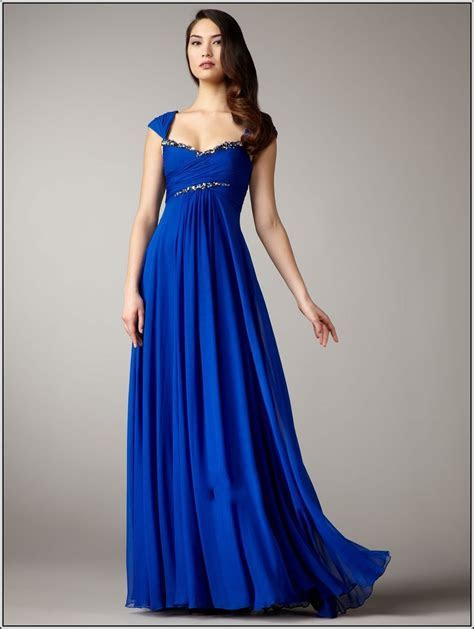 Royal Blue Bridesmaid Dresses Davids Bridal   Dresscab