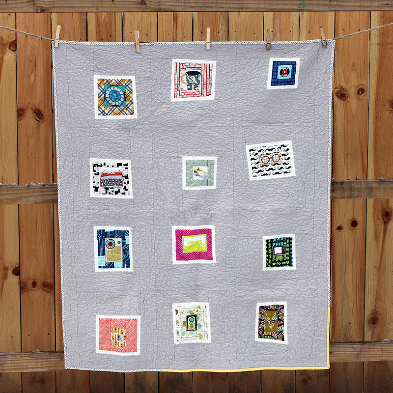 Baby's First Hipster Quilt