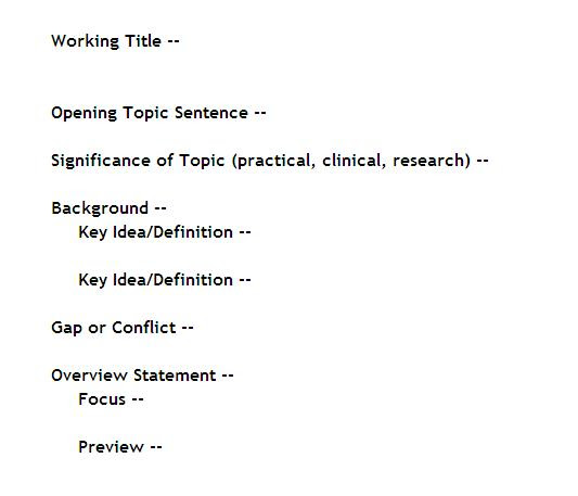 how to write a thesis driven essay