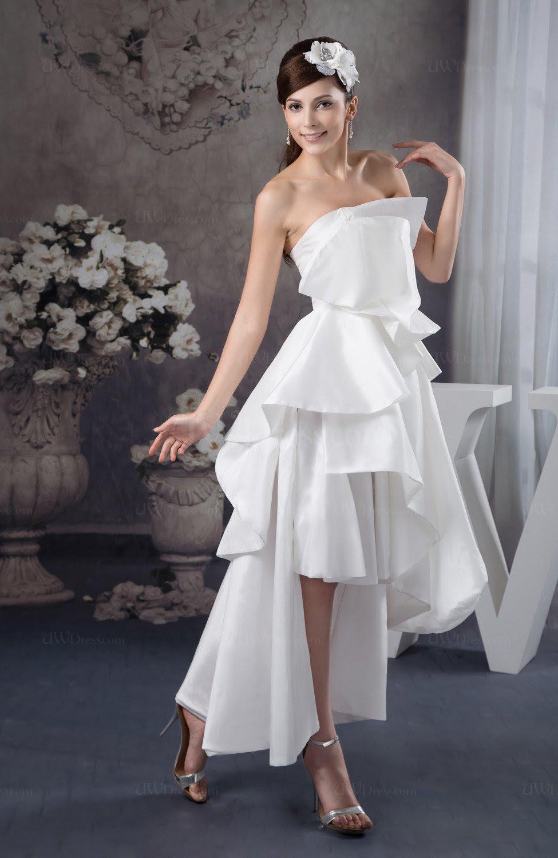 white long bridesmaid dress beach gothic spring taffeta