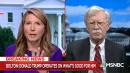 MSNBC's Nicolle Wallace Dismantles John Bolton for Trusting Trump