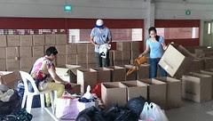 Haiyan volunteers
