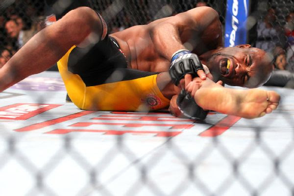 Anderson Silva headed from Arena to an immediate surgery on broken leg.