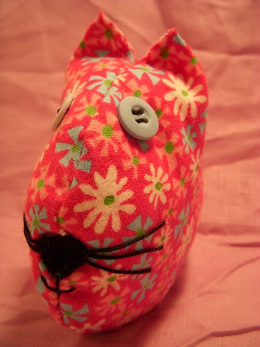 Kitty Stuffie/Pin Cushion (front)