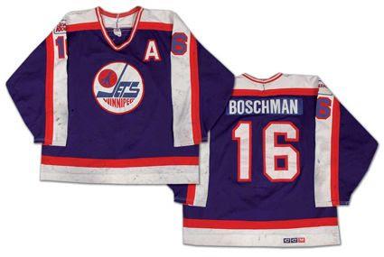 Winnipeg Jets 88-89 road jersey