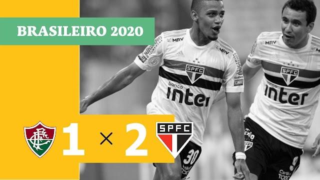 São Paulo supera Fluminense no Maracanã e 'rouba' protagonismo do Fla em 2020