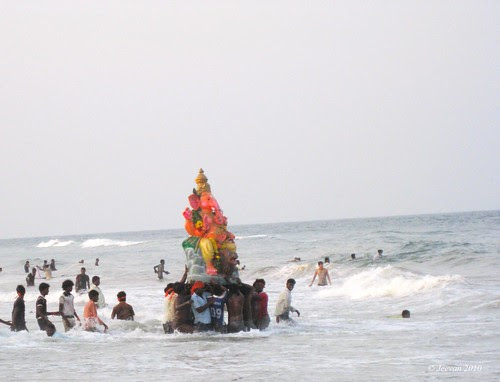 Ganesh immersion 2010