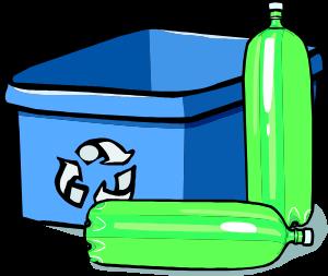 plastic bottle recycling bins