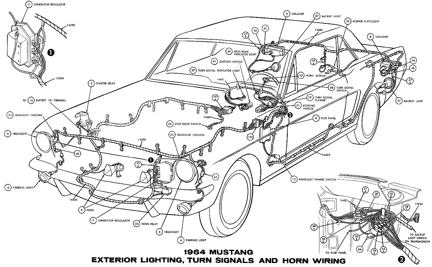 1967 Mustang Fuse Box Location