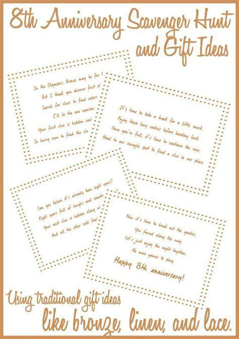 Such fun and creative 8th anniversary gift ideas, love