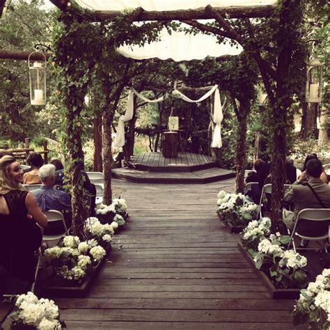 Wedding, Pine Rose Cabins, Lake Arrowhead, CA   We Do