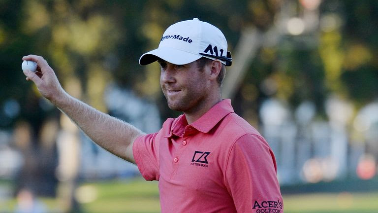 Tyler Duncan holds the 54-hole lead in California