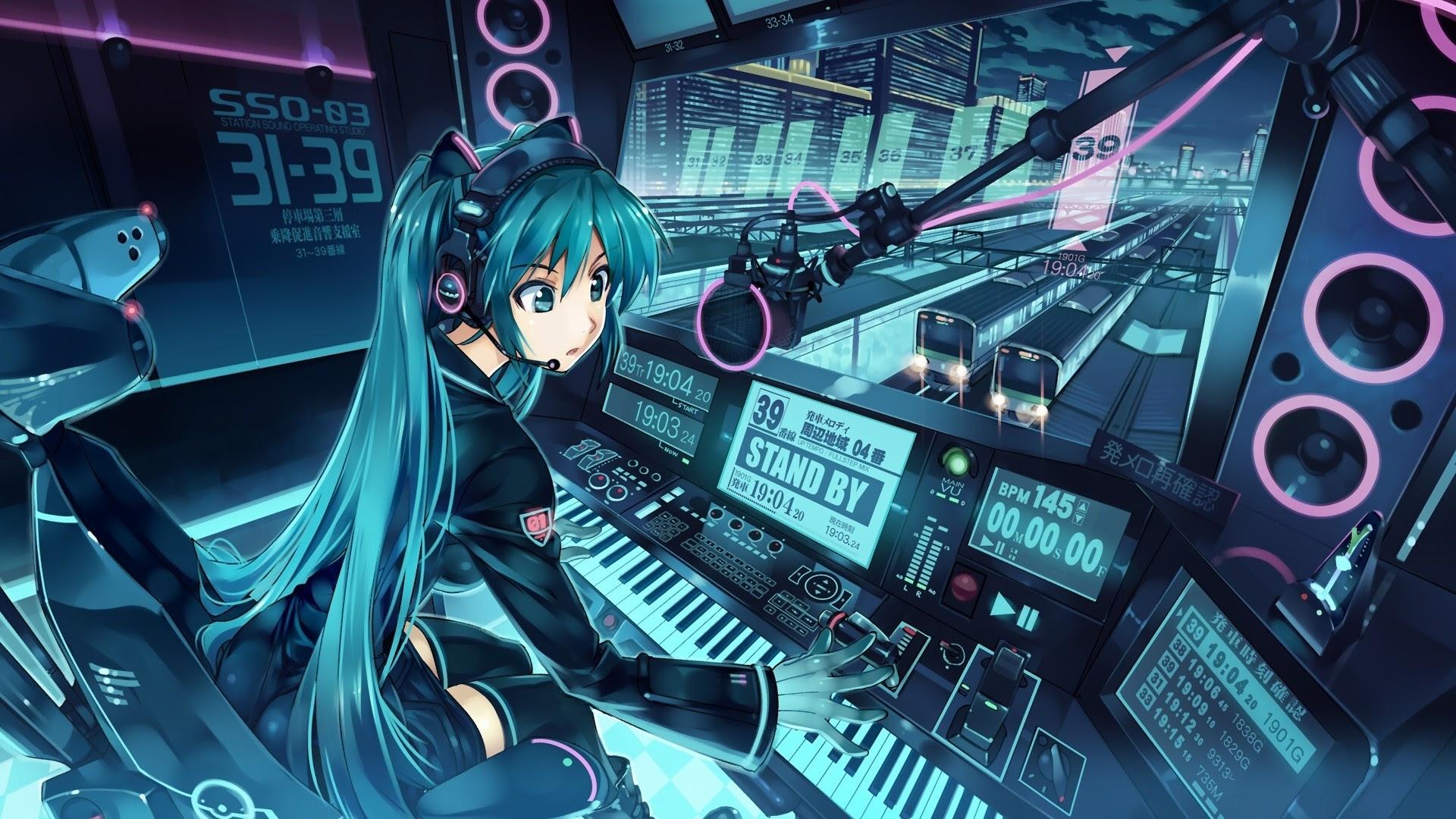 Anime DJ Wallpaper - FunDJStuff.com