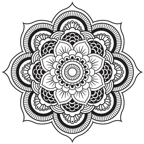 kaleidoscope coloring pages printable   coloring