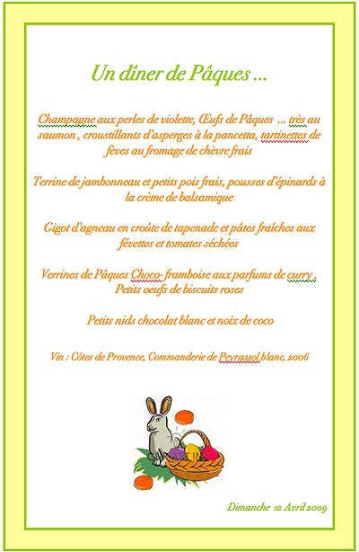 Dîner de Pâques 12 avril 2009.jpg